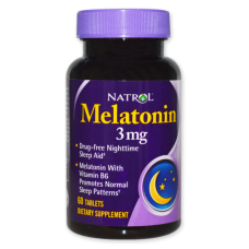 Natrol Melatonin 3 mg 60 таб.