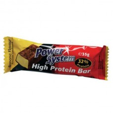 Power Sys. High Protein Bar 32% (24x35 г)