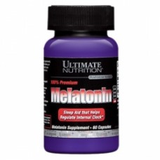 Ultimate N. Melatonin 100% Premium 3 mg (60 кап.)