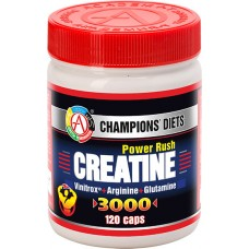 Academy-T Creatine Power Rush 3000 (120 капс.)