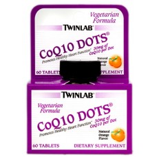 TwinLab CoQ10 Dots 30 mg (60 таб.)